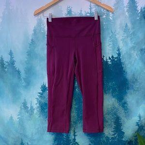 Lululemon Athletica Purple Crop Leggings